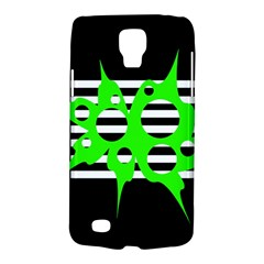 Green abstract design Galaxy S4 Active