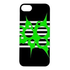 Green abstract design Apple iPhone 5S/ SE Hardshell Case