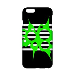 Green abstract design Apple iPhone 6/6S Hardshell Case