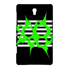 Green abstract design Samsung Galaxy Tab S (8.4 ) Hardshell Case