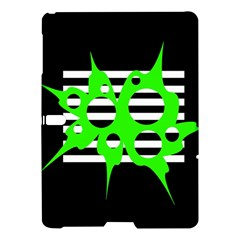 Green abstract design Samsung Galaxy Tab S (10.5 ) Hardshell Case