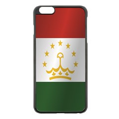 Flag Of Tajikistan Apple iPhone 6 Plus/6S Plus Black Enamel Case