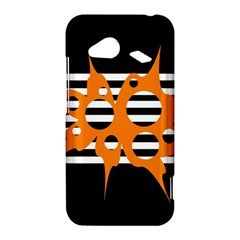 Orange abstract design HTC Droid Incredible 4G LTE Hardshell Case
