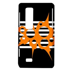 Orange abstract design LG Optimus Thrill 4G P925