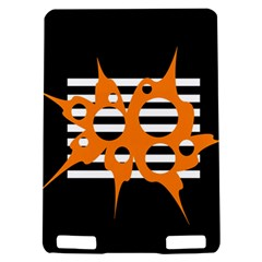 Orange abstract design Kindle Touch 3G