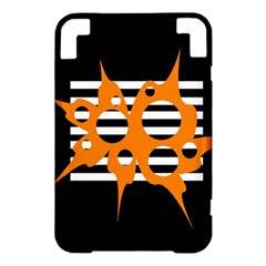 Orange abstract design Kindle 3 Keyboard 3G
