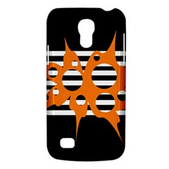 Orange abstract design Galaxy S4 Mini