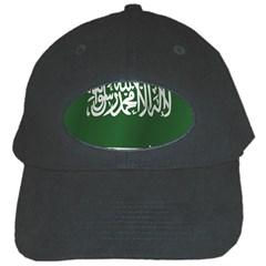 Flag Of Saudi Arabia Black Cap