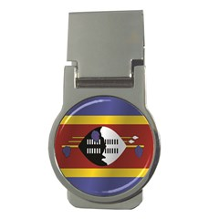 Flag Of Swaziland Money Clips (Round)