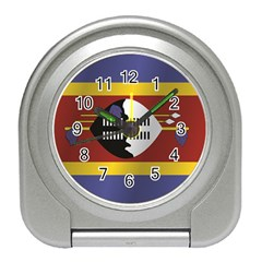 Flag Of Swaziland Travel Alarm Clocks