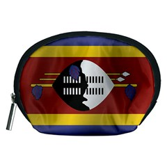 Flag Of Swaziland Accessory Pouches (Medium)