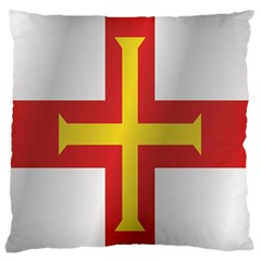 Flag Of Guernsey Standard Flano Cushion Case (Two Sides)