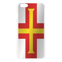 Flag Of Guernsey Apple Seamless iPhone 6 Plus/6S Plus Case (Transparent)