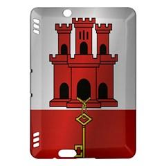 Flag Of Gibraltar Kindle Fire HDX Hardshell Case