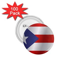 Flag Of Puerto Rico 1.75  Buttons (100 pack)