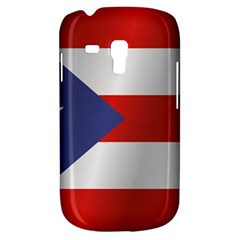 Flag Of Puerto Rico Samsung Galaxy S3 MINI I8190 Hardshell Case