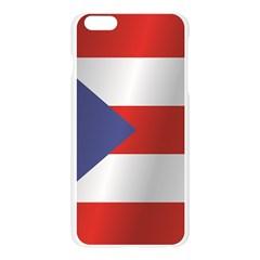Flag Of Puerto Rico Apple Seamless iPhone 6 Plus/6S Plus Case (Transparent)