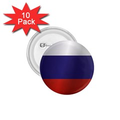 Flag Of Russia 1.75  Buttons (10 pack)