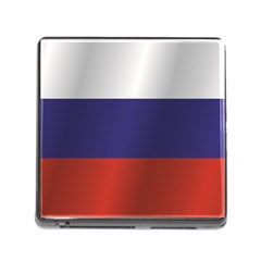 Flag Of Russia Memory Card Reader (Square)