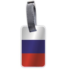 Flag Of Russia Luggage Tags (Two Sides)