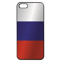 Flag Of Russia Apple iPhone 5 Seamless Case (Black)