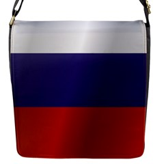 Flag Of Russia Flap Messenger Bag (S)