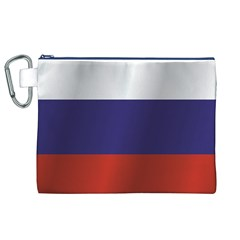 Flag Of Russia Canvas Cosmetic Bag (XL)