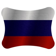 Flag Of Russia Jigsaw Puzzle Photo Stand (Bow)