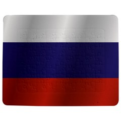 Flag Of Russia Jigsaw Puzzle Photo Stand (Rectangular)