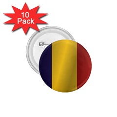 Flag Of Romania 1.75  Buttons (10 pack)