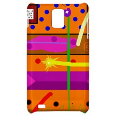 Orange abstraction Samsung Infuse 4G Hardshell Case