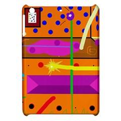 Orange abstraction Apple iPad Mini Hardshell Case
