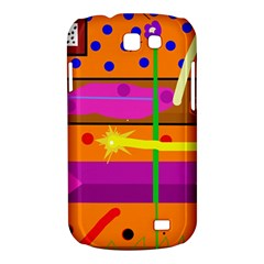 Orange abstraction Samsung Galaxy Express I8730 Hardshell Case