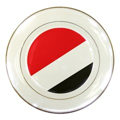 Flag Of Principality Of Sealand Porcelain Plates