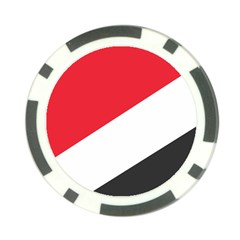 Flag Of Principality Of Sealand Poker Chip Card Guards