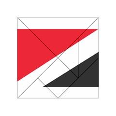 Flag Of Principality Of Sealand Acrylic Tangram Puzzle (4  x 4 )