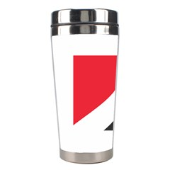 Flag Of Principality Of Sealand Stainless Steel Travel Tumblers