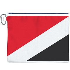 Flag Of Principality Of Sealand Canvas Cosmetic Bag (XXXL)