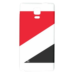 Flag Of Principality Of Sealand Galaxy Note 4 Back Case