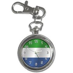 Flag Of Sierra Leone Key Chain Watches