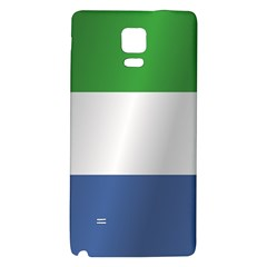 Flag Of Sierra Leone Galaxy Note 4 Back Case
