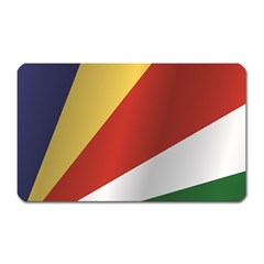 Flag Of Seychelles Magnet (Rectangular)