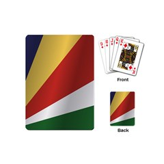 Flag Of Seychelles Playing Cards (Mini)