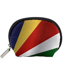 Flag Of Seychelles Accessory Pouches (Small)