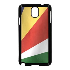 Flag Of Seychelles Samsung Galaxy Note 3 Neo Hardshell Case (Black)