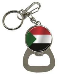 Flag Of Sudan Bottle Opener Key Chains