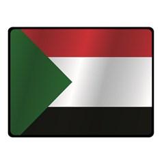 Flag Of Sudan Fleece Blanket (Small)