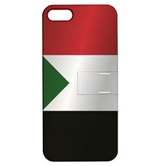 Flag Of Sudan Apple iPhone 5 Hardshell Case with Stand