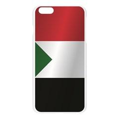 Flag Of Sudan Apple Seamless iPhone 6 Plus/6S Plus Case (Transparent)