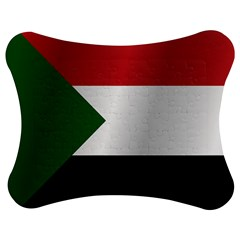 Flag Of Sudan Jigsaw Puzzle Photo Stand (Bow)